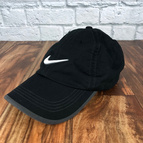 Nike Pro Dri-Fit Golf Aerobill Black Velcro Hat
